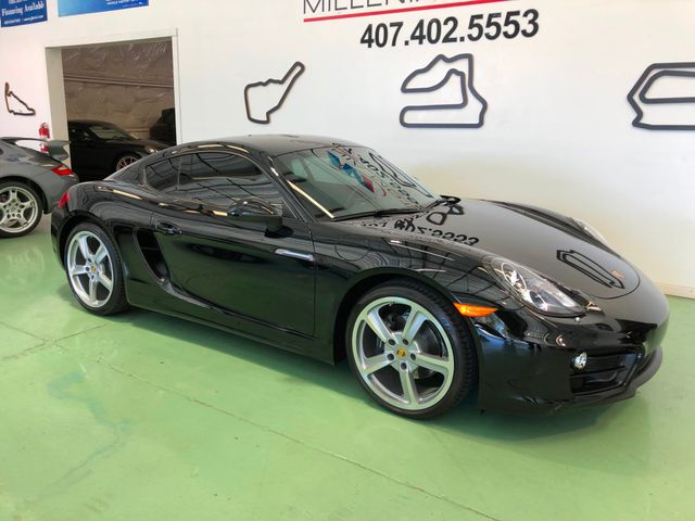 2016 Porsche Cayman Black Edition Longwood, FL 1