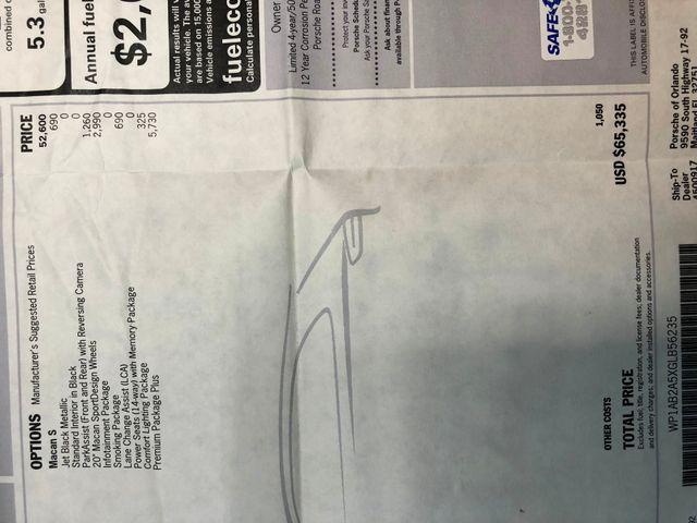 2016 Porsche Macan S Longwood, FL 39