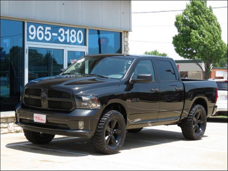2016 Ram 1500 Crew Cab Black Edition 4wd Lifted 34 Sold Watermark