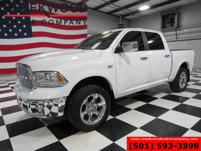 2016 Ram 1500 Dodge Laramie 4x4 White 1 Owner Nav Chrome 20s CLEAN