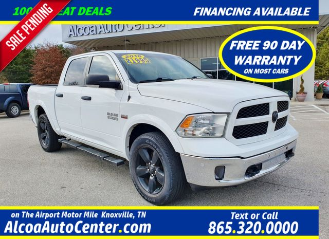 2016 Ram 1500 Outdoorsman 5.7L 4X4 w/Navigation