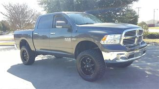 2016 Ram 1500 Big Horn LIFTED/WITH CUSTOM WHEELS AND TIRES in McKinney Texas, 75070