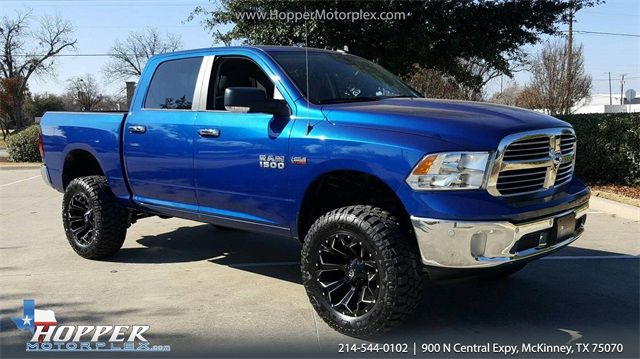 2016 Ram 1500 Big Horn Lifted Custom Wheels in McKinney Texas, 75070