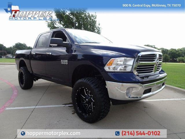 Custom Ram 1500 >> 2016 Ram 1500 Big Horn Lift Custom Wheels And Tires Mckinney Texas