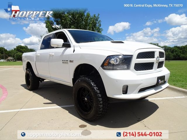 2016 Ram 1500 Sport LIFT/CUSTOM WHEELS AND TIRES
