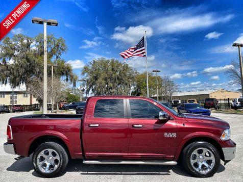 2016 Ram 1500 LARAMIE CREWCAB 4X4 LEATHER CARFAX CERT in Plant City, Florida
