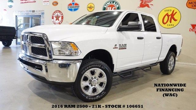 2016 Dodge RAM 2500 Tradesman 4X4 DIESEL,BACK-UP CAM,CLOTH,21K,WE F...