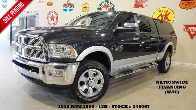 2016 Dodge RAM 2500 Laramie 4X4 DIESEL,ROOF,NAV,BACK-UP,HTD/COOL LT...