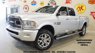 2016 Dodge RAM 2500 Longhorn Limited 4X4 DIESEL,NAV,BACK-UP,HTD/COO... in Carrollton TX, 75006
