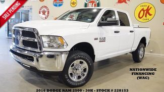 2016 Dodge RAM 2500 Tradesman 4X4 HEMI,BACK-UP CAM,CLOTH,30K,WE FIN... in Carrollton TX, 75006