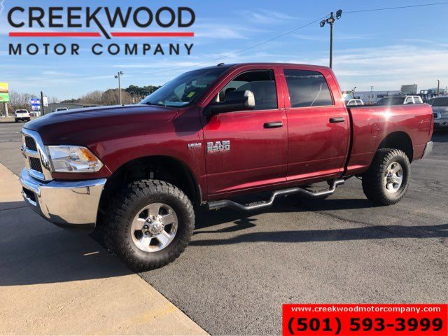 2016 Ram 2500 Dodge Leveled 6.4L Hemi Gas 4x4 Crew Cab Chrome CLEAN