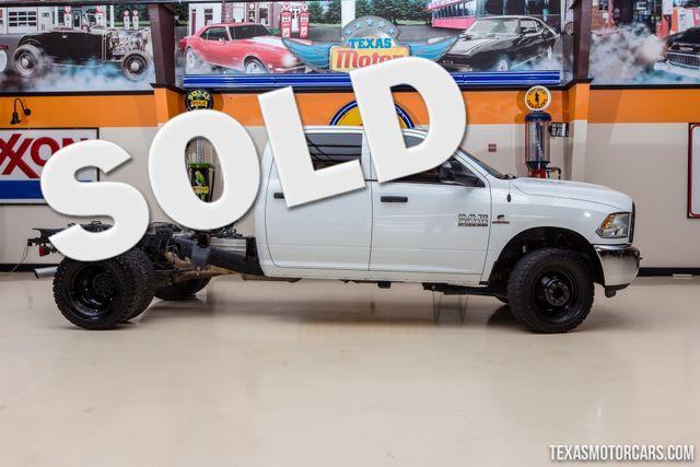 2016 Ram 3500 Tradesman 4X4 Chassis