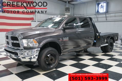 2016 Ram 3500 Dodge ST SLT 4x4 Diesel Dually Utility Flatbed New Tires in Searcy, AR