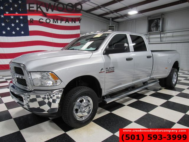 2016 Ram 3500 Dodge ST Dually 4x4 Diesel Auto Silver 1 Owner Low Miles