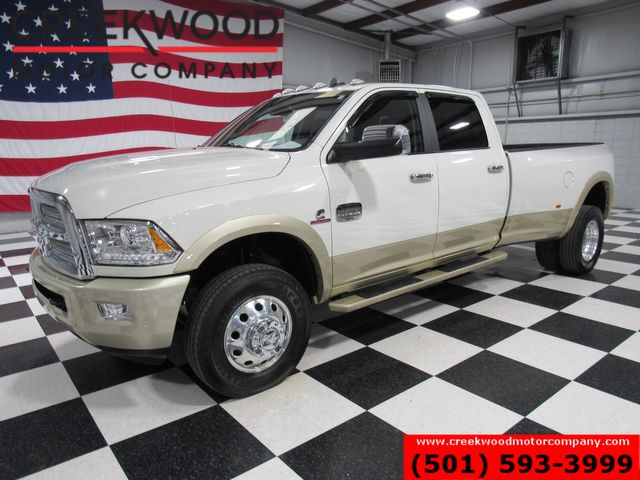 2016 Ram 3500 Dodge Longhorn Laramie 4x4 Diesel Dually White Nav CLEAN in Searcy, AR 72143