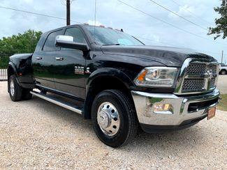 2016 Ram 3500 Laramie Mega Cab 4x4 6.7L Cummins Diesel Auto Dually in Sealy, Texas 77474