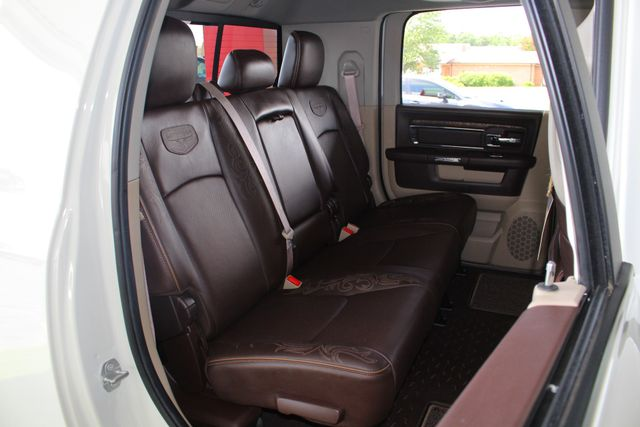 "2016 Ram 3500 Longhorn Mega Cab 4x4 - LIFTED - 22.5"" WHEELS! Mooresville , NC 12"