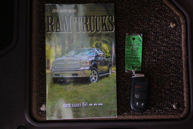 "2016 Ram 3500 Longhorn Mega Cab 4x4 - LIFTED - 22.5"" WHEELS! Mooresville , NC 19"