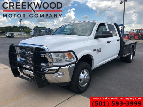 2016 Ram 3500 Dodge ST SLT 4x4 Hemi Gas White Service Utility Flatbed in Searcy, AR