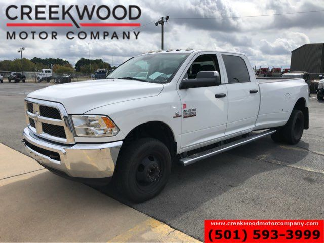 2016 Ram 3500 Dodge ST SLT 4x4 Diesel Dually White New Tires 1 Owner