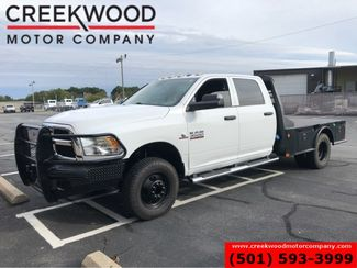 2016 Ram 3500 Dodge 4x4 Diesel Dually Utility Service Flatbed White in Searcy, AR 72143