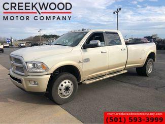 2016 Ram 3500 Dodge Longhorn Laramie 4x4 Diesel Dually White Nav CLEAN in Searcy, AR 72143