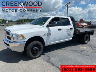 2016 Ram 3500 Dodge SLT 4x4 Diesel Dually Auto White Utility Flatbed in Searcy, AR 72143