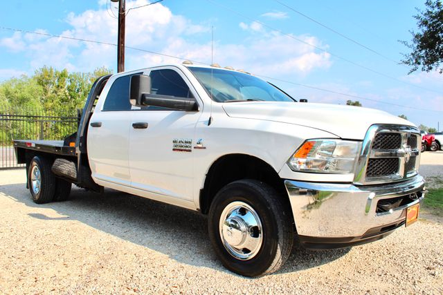 2016 Ram 3500 Tradesman Crew Cab 2wd 6.7L Cummins Diesel Aisin Flatbed Dually in Sealy, Texas 77474