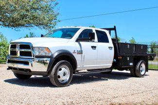 2016 Ram 4500 Tradesman Crew Cab 4x4 6.7L Cummins Diesel AISIN Auto Sealy, Texas 5