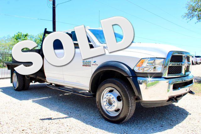 2016 Ram 4500 Tradesman Crew Cab 4x4 6.7L Cummins Diesel AISIN Auto Sealy, Texas