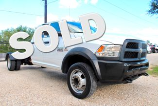 2016 Ram 5500 Tradesman Crew Cab 6.7L Cummins Diesel AISIN Auto Sealy, Texas