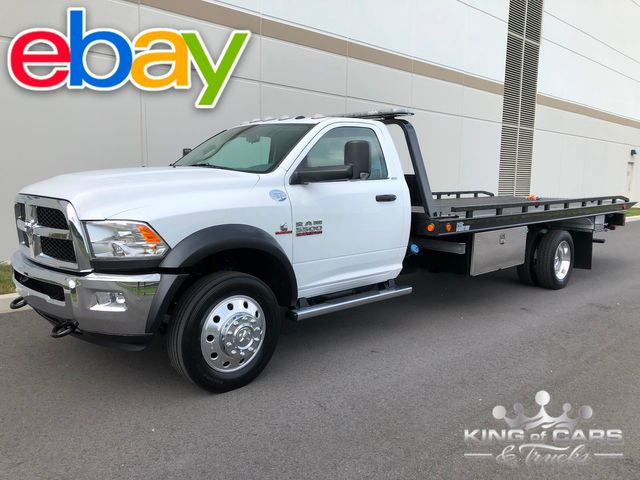 2016 Ram 5500 Slt 6.7l Cummins DIESEL 2-CAR ROLLBACK 1-OWNER LOW MILE MINT