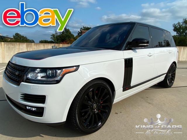 2016 Range Rover Lwb SUPERCHARGED LOW MILES