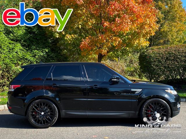 """2016 Range Rover Sport SUPERCHARGED 39K MILES 22"""" WHEELS LOADED MINT"""