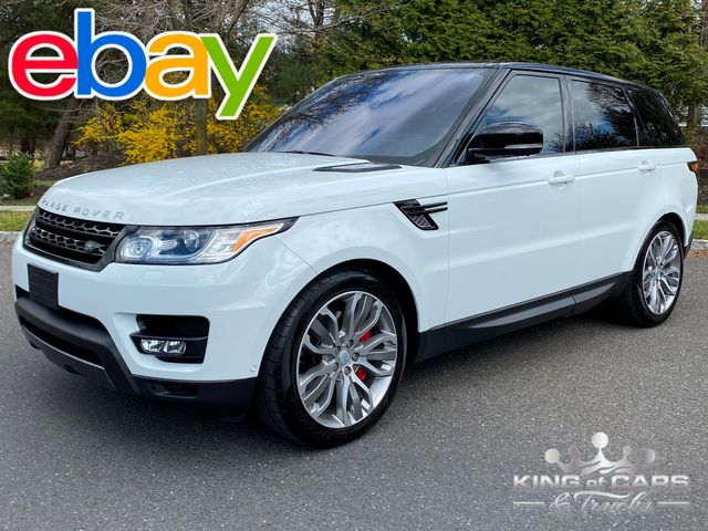2016 Ranger Rover Sport DYNAMIC SUPERCHARGED ONLY 44K MILE RED INTERIOR