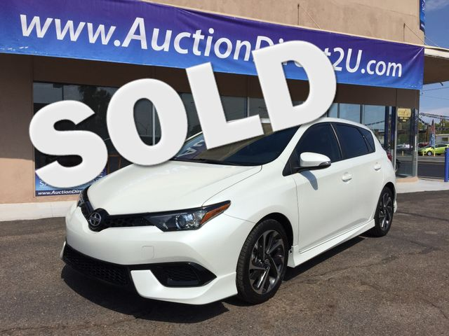 2016 Scion iM FULL MANUFACTURER WARRANTY Mesa, Arizona