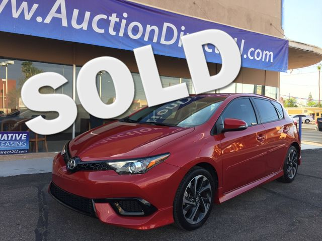 2016 Scion iM 5 YEAR/60,000 MILE FACTORY POWERTRAIN WARRANTY Mesa, Arizona