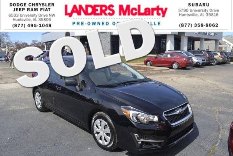 2016 Subaru Impreza 2.0i | Huntsville, Alabama | Landers Mclarty DCJ & Subaru in Huntsville Alabama