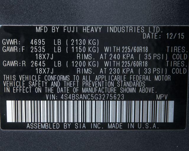 2016 Subaru Outback 2.5i Limited Burbank, CA 37