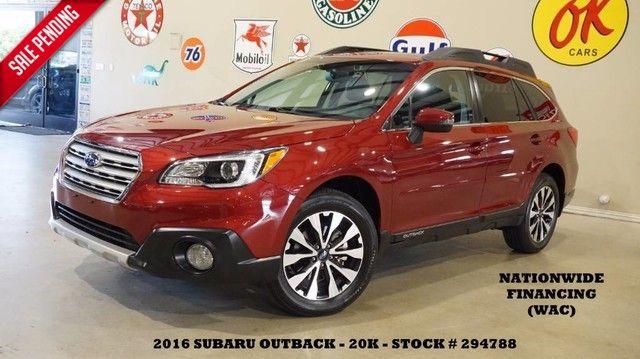 2016 Subaru Outback 2.5i Limited ROOF,NAV,BACK-UP CAM,HTD LTH,H/K S...