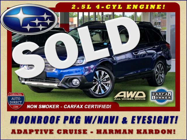 2016 Subaru Outback 2.5i Limited AWD - MOONROOF PKG W/NAVI & EYESIGHT! Mooresville , NC 0