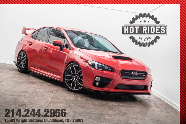 2016 Subaru WRX STI Limited Stage-3 With Many Upgrades