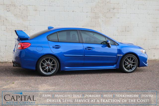2016 Subaru WRX STI Limited AWD w/Navigation, Moonroof, Heated Seats & Harman/Kardon Audio in Eau Claire, Wisconsin 54703