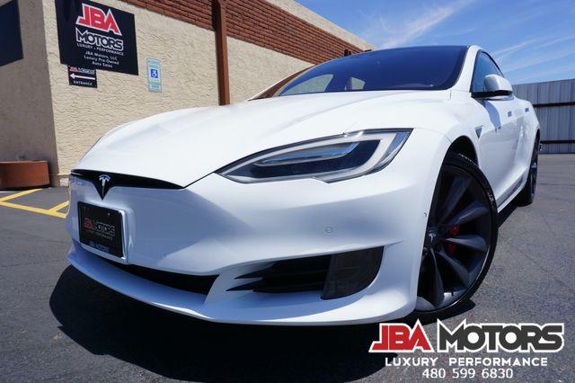 2016 Tesla Model S P90D Performance 90D AWD Sedan INSANE MODE 1 OWNER