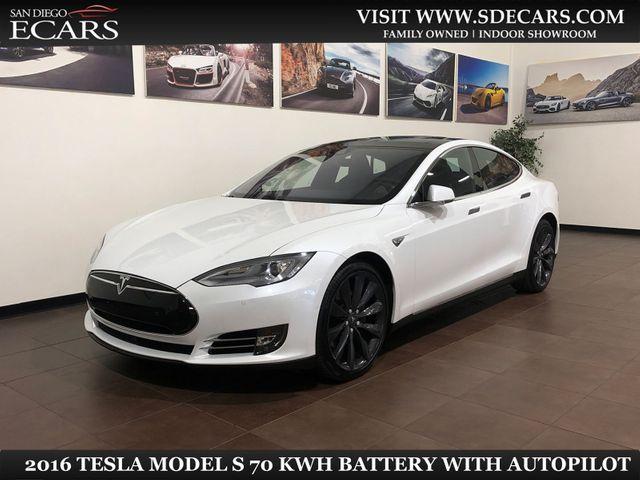2016 Tesla Model S 70 kWh Battery