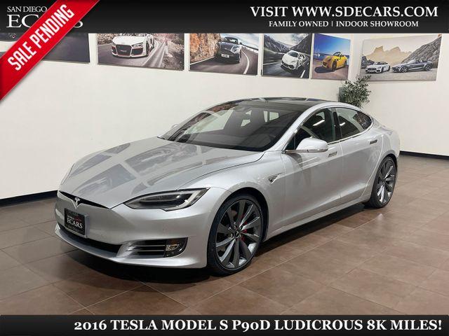 2016 Tesla Model S 90D Ludicrous
