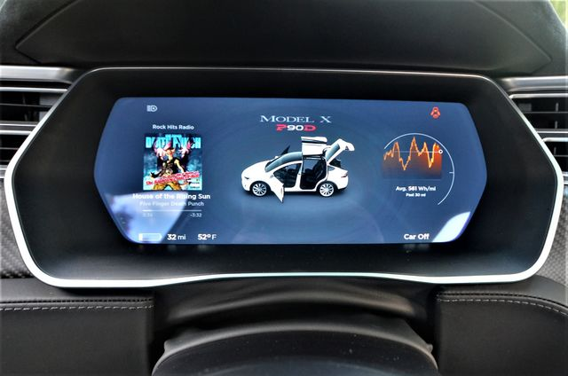 2016 Tesla Model X P90D Reseda, CA 8