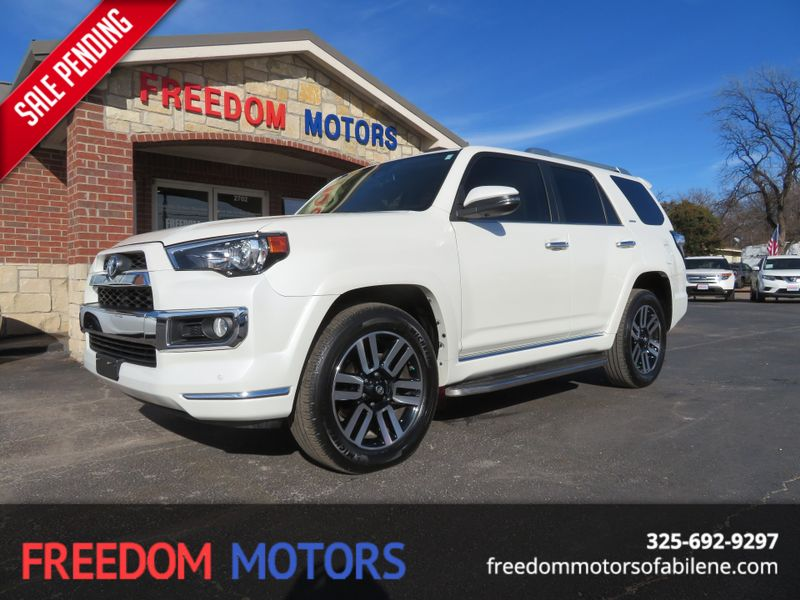 2016 Toyota 4Runner Limited   Abilene, Texas   Freedom Motors  in Abilene Texas