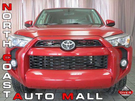2016 Toyota 4Runner 4WD 4dr V6 SR5 in Akron, OH