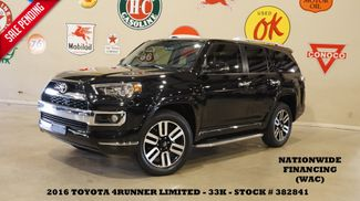 2016 Toyota 4Runner Limited 4WD SUNROOF,NAV,HTD/COOL LTH,3RD ROW,33K in Carrollton, TX 75006